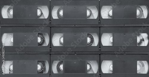 Fotografie, Obraz  VHS video cassette