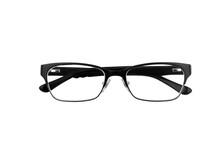 Black Horn Rimmed Glasses Isol...