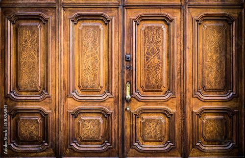 Fotografija  Freemasonry door entrance