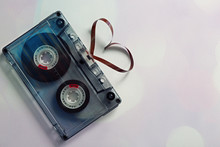 Audio Cassette With Magnetic T...