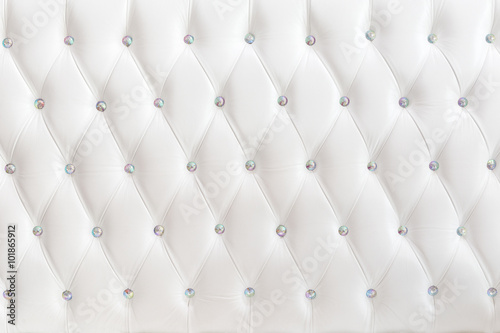White luxurious leather texture furniture Wallpaper Mural