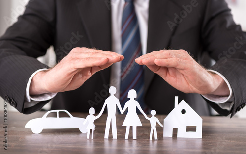 Fotografia  Concept of insurance