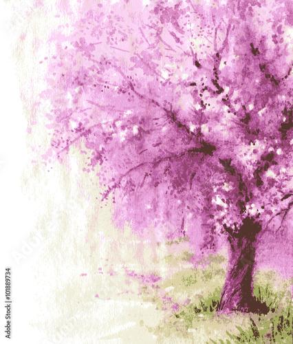 kwitnace-drzewo-wisni-z-rozowymi-kwiatami