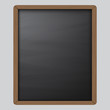 Chalkboard background template on wooden pattern texture,To adapt or apply for lecture, teaching,classroom, sketch,drawing,lettering,sketching,vector,illustration