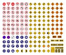 All Traffic Signs Vector