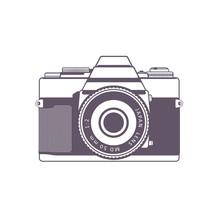Retro Camera, Vintage SLR Came...