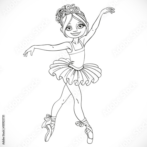 How To Draw A Girl Dancing Ballet Step By Step Free Download Oasis