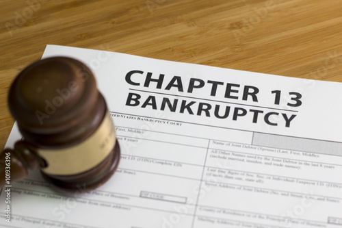 Fotografía  Bankruptcy Chapter 13