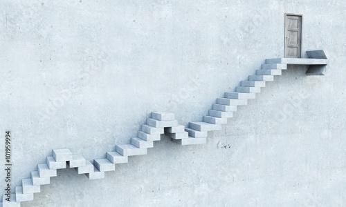 Foto op Plexiglas Trappen Growth and progress concept