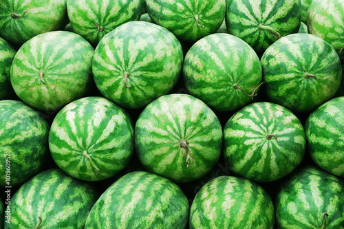 stacking watermelons background Wallpaper Mural