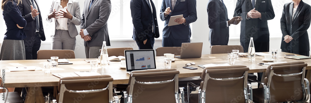 Fototapeta Business Group Meeting Discussion Strategy Working Concept