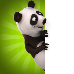 Fototapeta Panda Fun panda