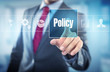 canvas print picture - Policy