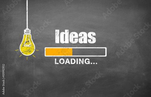 Obraz Solution / Loading / Bulb - fototapety do salonu