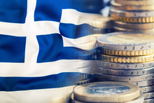 Greece Flag. Euro Money. Euro ...