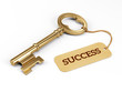 canvas print picture - Key to Success