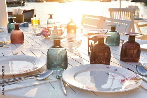 Fotografie, Obraz  sahil restoranları