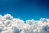 Fototapeta Na sufit - Blue clouds and sky