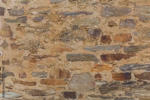 Poster Vieux mur texturé sale Old textured wall background