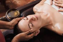 Ayurvedic Face Massage With Oi...
