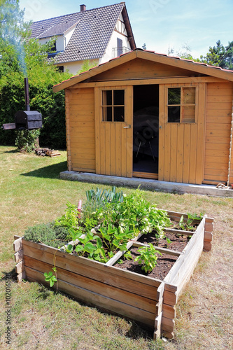 Jardin aménagé - Buy this stock photo and explore similar ...
