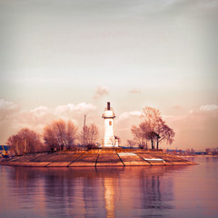 FototapetaVolzhsky lighthouse.