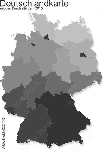 Germany with federal states @p(AS)ob