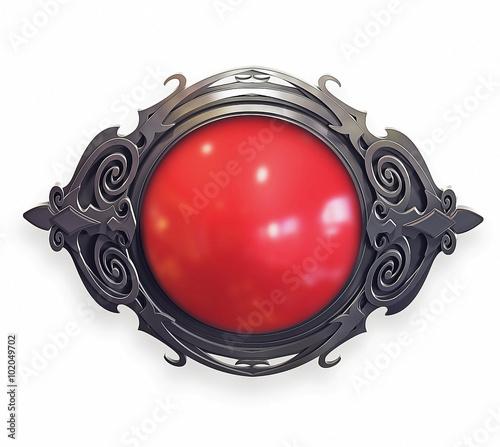 Valokuva Ornamental baroque Emblem