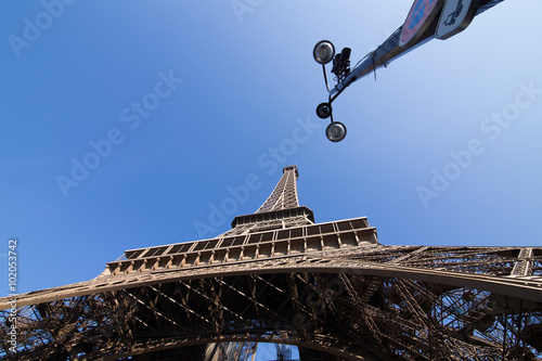 Foto  Eiffle Tower. Paris. France