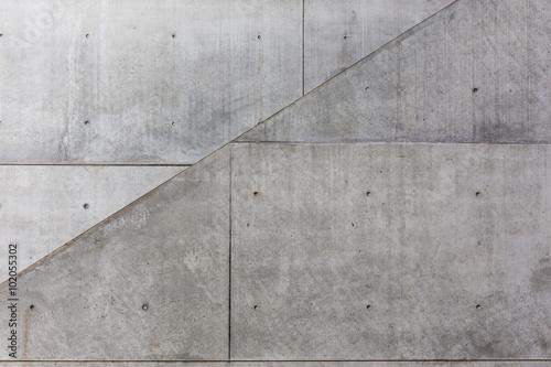 obraz lub plakat Diagonale im Sichtbeton