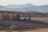 View on KArkonosze and Kaczawskie mountains in Poland - 102062905