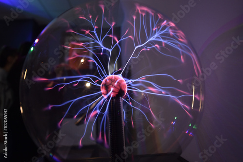 Tesla coil - physics experiment for children