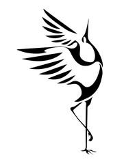 Naklejkadancing cranes 1