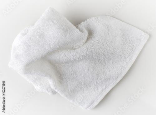 Papel de parede White spa towel