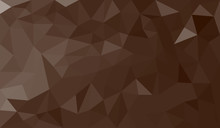 Brown Abstract Geometric Trian...
