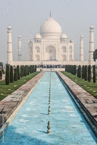 Impeccable Taj Mahal Poster