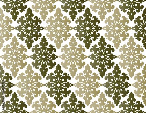 Photo Antique ottoman turkish pattern vector design fourty four