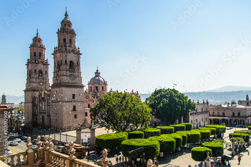 Photo Catedral de Morelia Michoacan