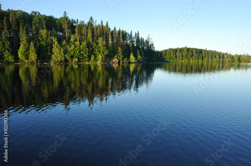 Printed kitchen splashbacks Lake Reflections on a Wilderness Lake