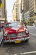 Vintage car in New York City