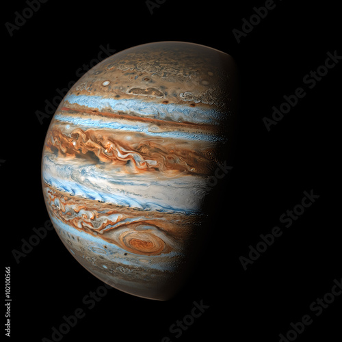Fotografija  Jupiter Elements of this image furnished by Nasa