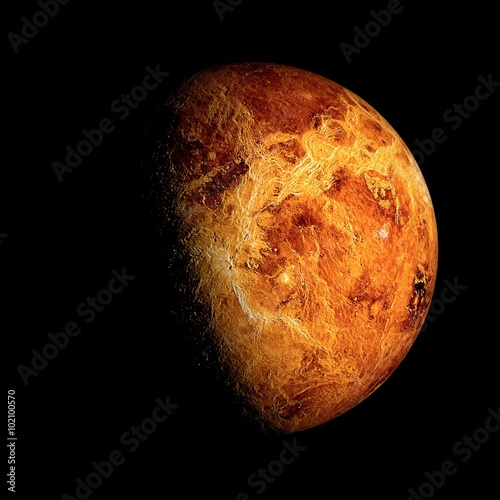 Keuken foto achterwand Nasa Venus Elements of this image furnished by NASA