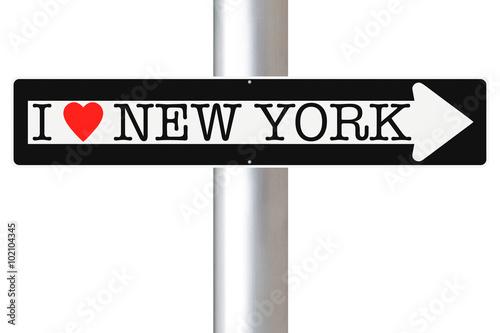 Fotografía  I Love New York