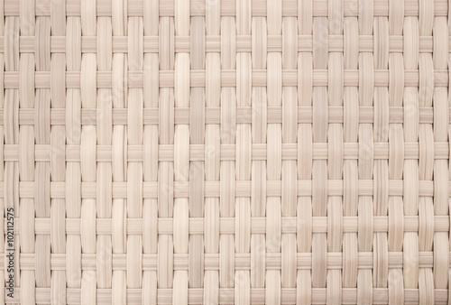 Fotografía  weave wicker pattern background