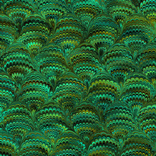 Marbled Paper Peacock