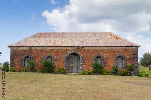 Aluminium Prints Delhi Roussel Trianon plantation slaves house in Marie galante, Caribbean