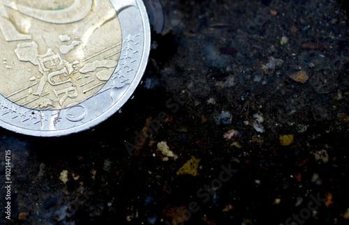 Valokuva  Zweieuromünze
