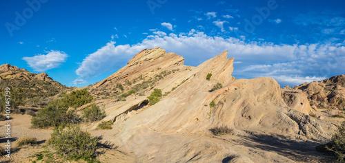 Fotografia, Obraz  Mojave Desert Rock Formation