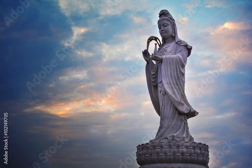 Foto op Plexiglas Bedehuis Buddhist Statue in China