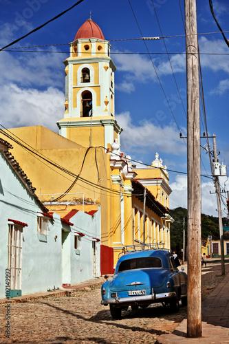 Fotografering  Cuba, Trinidad, Iglesia San Francísco de Asís